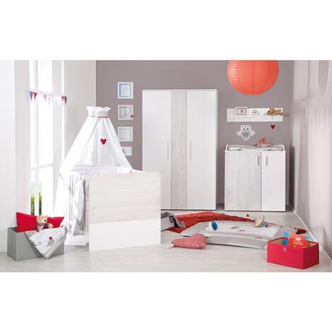 roba babybett alenja 70x140 cm online kaufen baby walz. Black Bedroom Furniture Sets. Home Design Ideas