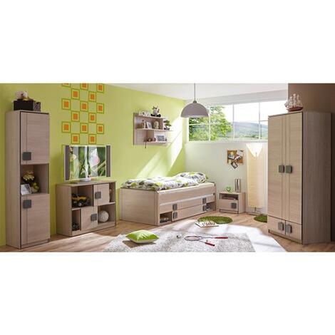 Kinderzimmer Camo Braun Grau ...