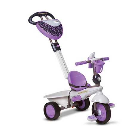 smarTrike  Dreirad Dream Touch Steering® 4-in-1  lila 3