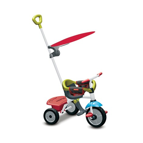 Fisher-Price  Dreirad Jolly Plus 3 in 1  rot/grün 1