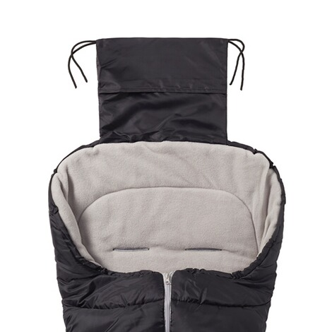 babycab  Winter-Fußsack Eco big für Kinderwagen, Buggy  schwarz 3