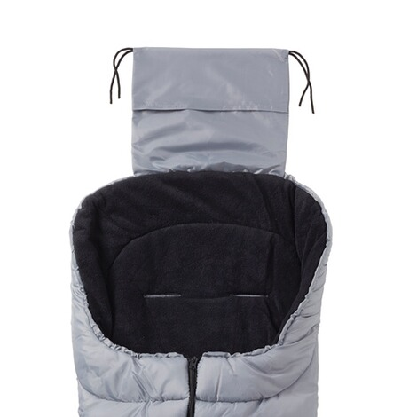 babycab  Winter-Fußsack Eco big für Kinderwagen, Buggy  grau 3