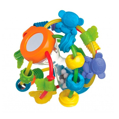 PLAYGRO Motorikschleifen-Ball Play and Learn 1