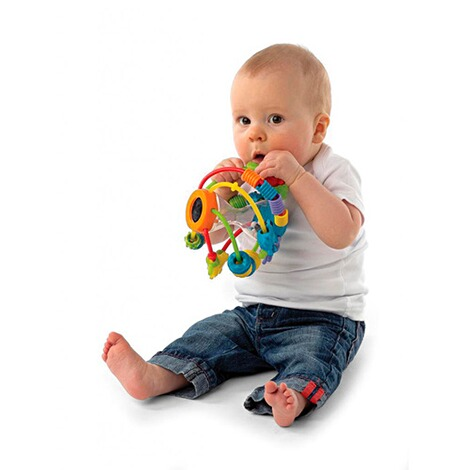 PLAYGRO Motorikschleifen-Ball Play and Learn 2