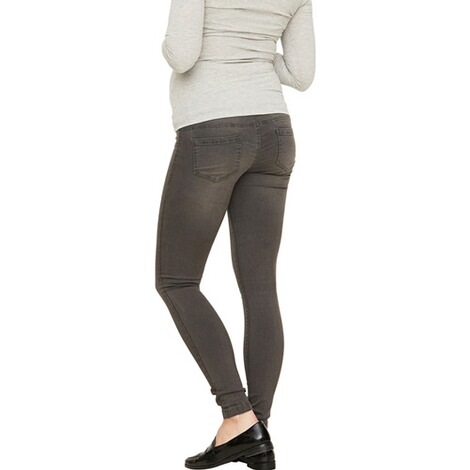 MAMA LICIOUS®  Umstands-Jeans Ella Grey Skinny 5