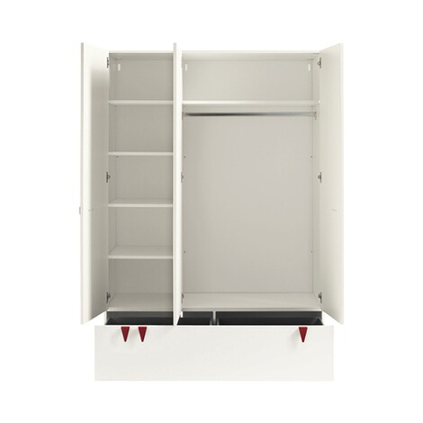 now! by hülsta NOW! MINIMO Kleiderschrank MINIMO 3-türig 4