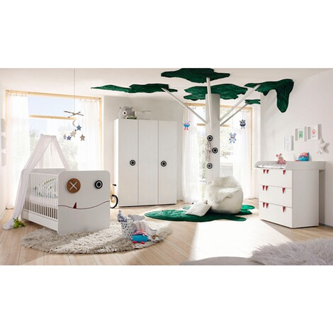 h lsta now minimo 3 tlg babyzimmer minimo online kaufen baby walz. Black Bedroom Furniture Sets. Home Design Ideas