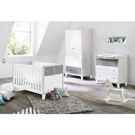 Pinolino 3 tlg babyzimmer harper online kaufen baby walz - Pinolino babyzimmer ...
