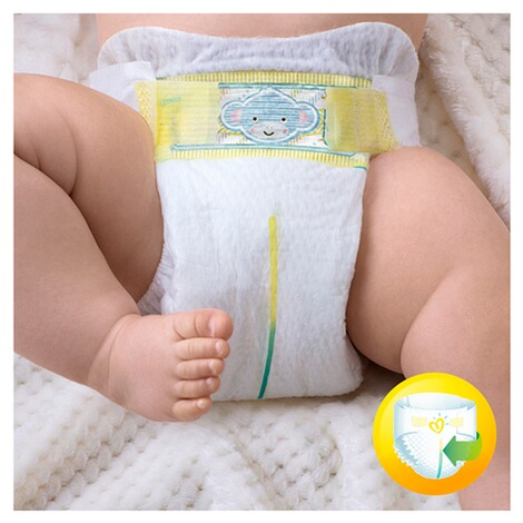 Pampers  Premium Protection Windeln Gr. 1 2-5 kg Halbmonatsbox 96 St. 2