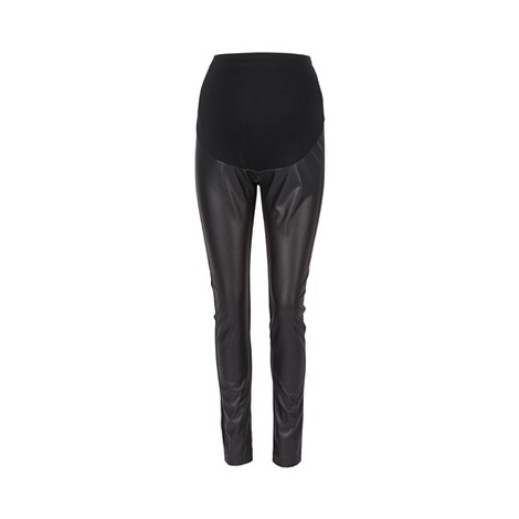 2HEARTS  Umstands-Leggings Trendsetter Lederoptik 1
