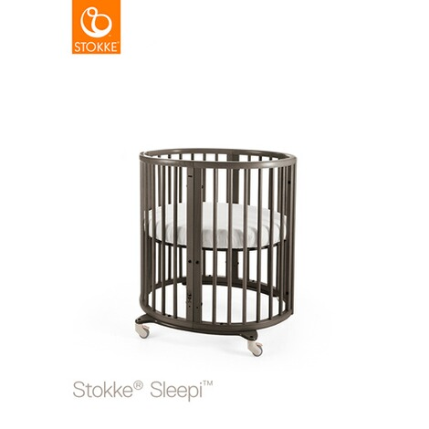 Stokke® SLEEPI™ Babybett mit Matratze Sleepi Mini (0 - 6 Monate)  Hazy Grey 1