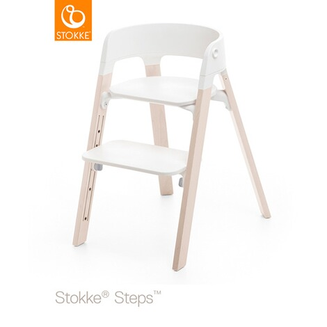 STOKKE® STEPS™ Beine  Buche White Wash 1