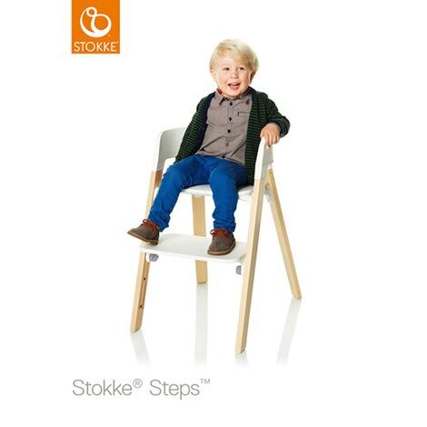 stokke steps treppenhochstuhl incl baby set tray gratis online kaufen baby walz. Black Bedroom Furniture Sets. Home Design Ideas