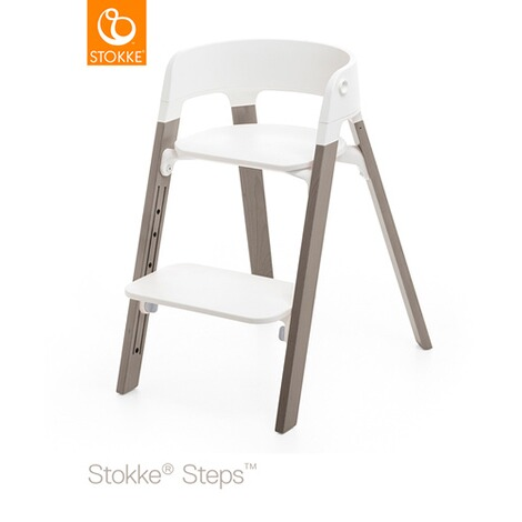 STOKKE® STEPS™ Beine  Buche Hazy Grey 1