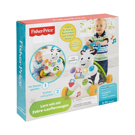 FISHER PRICE  Lauflernwagen Zebra 6