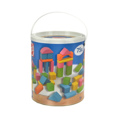 HEROS  Bunte Holzbausteine Happy Colours 75 2