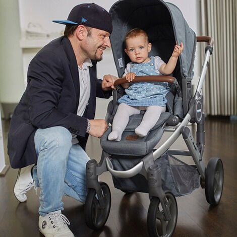 ABC DESIGN PEPPER Kinderwagen Design 2017  gravel 9