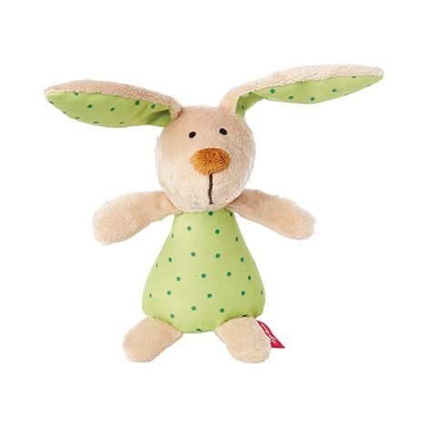 Sigikid  Rassel Hase Red Stars Collection 1