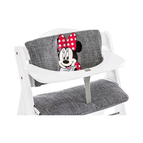 Hauck Hochstuhlauflage Deluxe Sitzpolster Minnie grey
