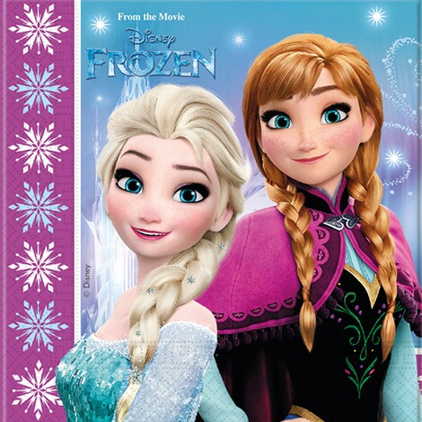 DISNEY FROZEN Servietten Frozen 1