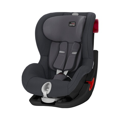 BRITAX RÖMER PREMIUM King II LS Kindersitz  Black Series Storm Grey 1
