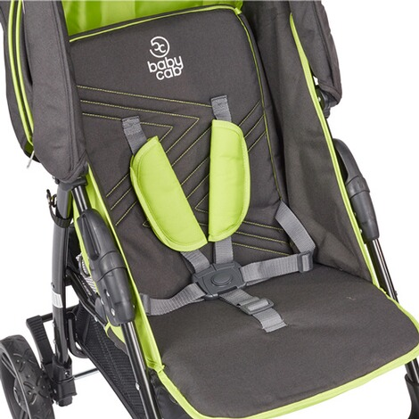 BABYCAB  Joe Sportwagen  black/green 3