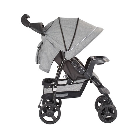 BABYCAB  Joe Sportwagen  grey/black 16