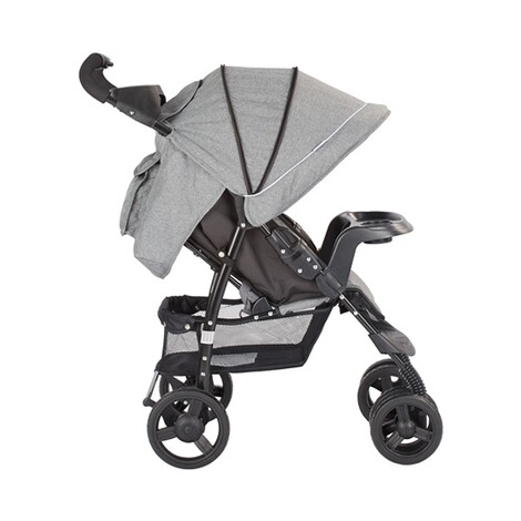 BABYCAB  Joe Sportwagen  grey/black 18