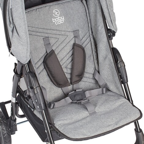 BABYCAB  Joe Sportwagen  grey/black 3