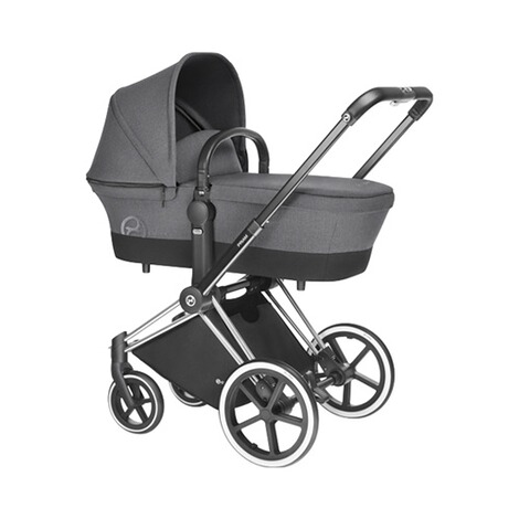 CYBEX PLATINUM Tragewanne Design 2017 für Priam  Manhattan Grey 3