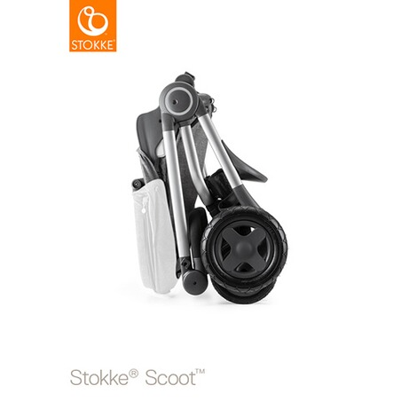 STOKKE® SCOOT V2 Kinderwagen  black melange 4