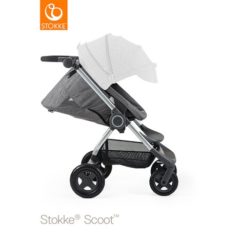 STOKKE® SCOOT V2 Kinderwagen  black melange 2