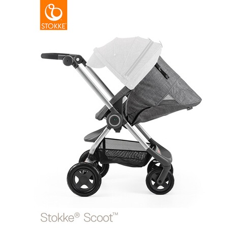 STOKKE® SCOOT V2 Kinderwagen  black melange 3