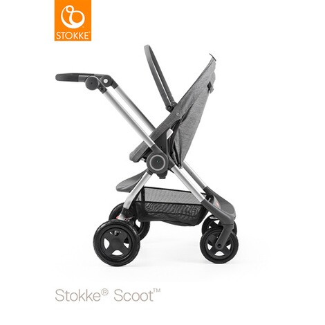 STOKKE® SCOOT V2 Kinderwagen  black melange 1