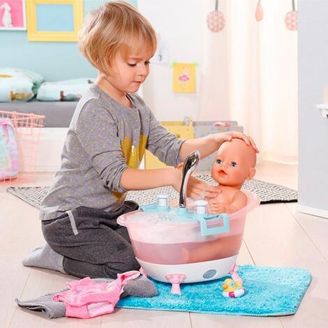 zapf creation baby born interactive puppen badewanne mit. Black Bedroom Furniture Sets. Home Design Ideas