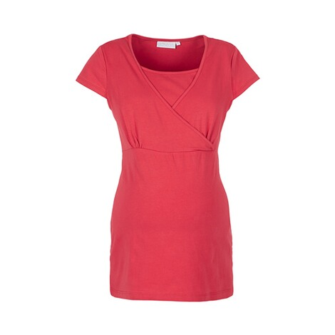 2HEARTS WE LOVE BASICS Umstands- und Still-T-Shirt  Cardinal Red 1