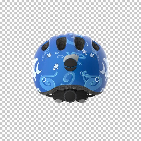 ABUSFahrradhelm Smiley 2.0  blue Sharky 3