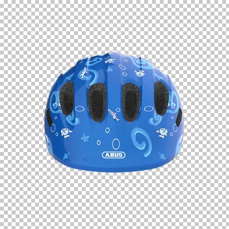 ABUSFahrradhelm Smiley 2.0  blue Sharky 2