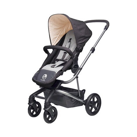 EASYWALKER HARVEY Kinderwagen Design 2018  Coal Black 1
