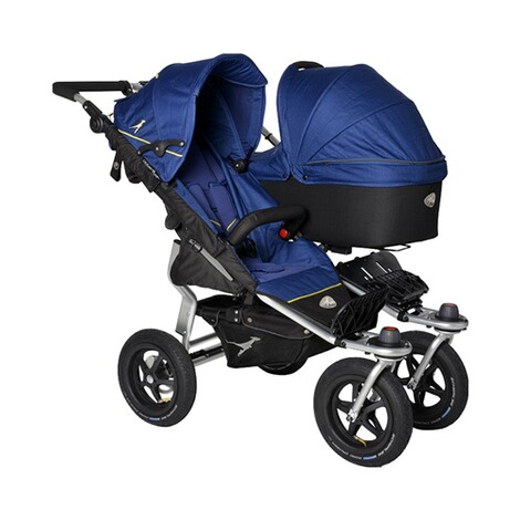 TFK  Twin Tragewanne für Twin Adventure, Twin Trail  Twilight Blue 2