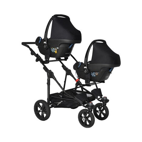TFK  Grund-Adapter Twin Trail für 2 Babyschalen 2