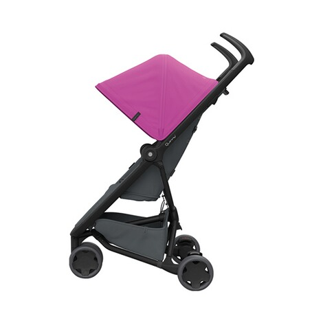 Quinny ZAPP FLEX Buggy mit Liegefunktion  Pink on Graphite 2