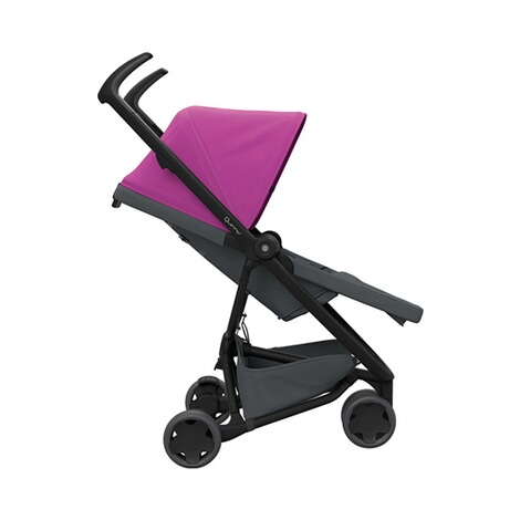 Quinny ZAPP FLEX Buggy mit Liegefunktion  Pink on Graphite 3