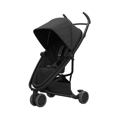 Quinny ZAPP FLEX Buggy mit Liegefunktion  Black on Black 1