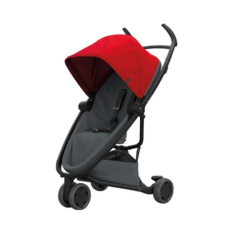 Quinny ZAPP FLEX Buggy mit Liegefunktion  Red on Graphite 1