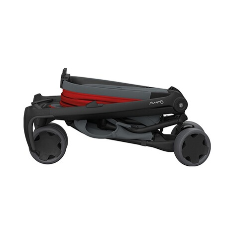 Quinny ZAPP FLEX Buggy mit Liegefunktion  Red on Graphite 4