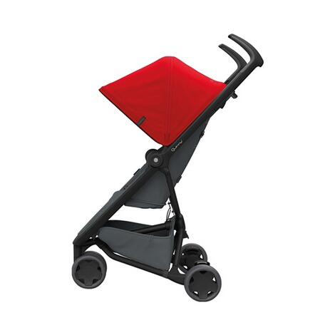 Quinny ZAPP FLEX Buggy mit Liegefunktion  Red on Graphite 2