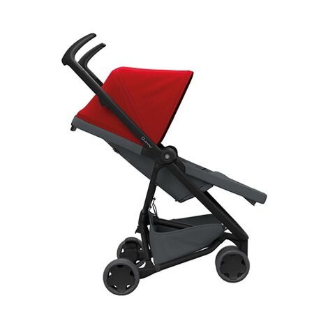 Quinny ZAPP FLEX Buggy mit Liegefunktion  Red on Graphite 3