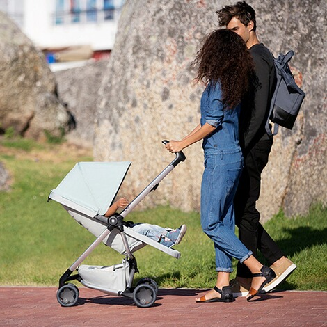 Quinny ZAPP FLEX Buggy mit Liegefunktion  Frost on Grey 5