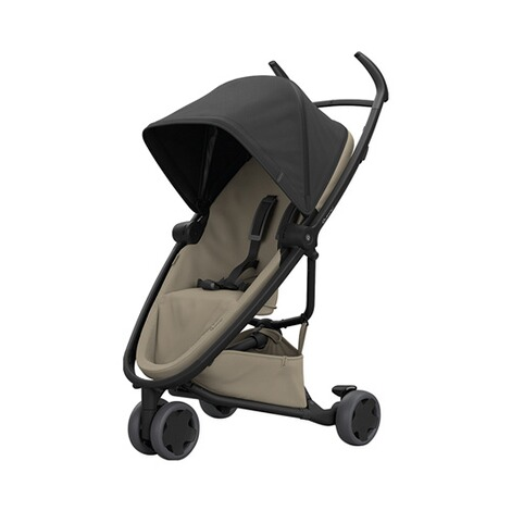 Quinny ZAPP FLEX Buggy mit Liegefunktion  Black on Sand 1